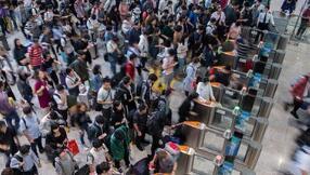 国庆假期铁路旅客累计发送人数突破1亿人次