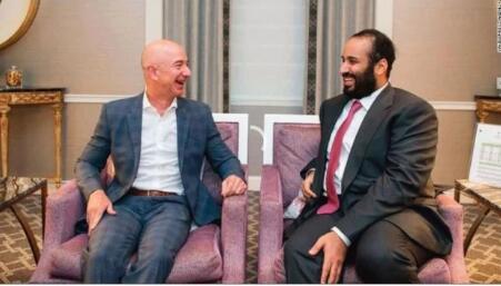沙特否认王储卷入亚马逊CEO贝索斯电话窃听案