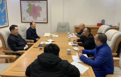 新年新征程 日海智能CEO杨涛率队拜会重庆市政府